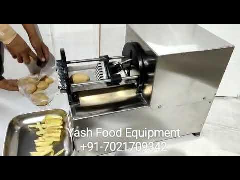 Finger Chips Cutting Machine Horizontal(Yash Brand)
