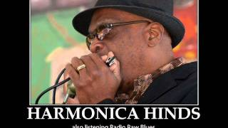 HARMONICA HINDS - RADIO RAW BLUES