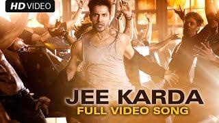 Jee Karda (Official Full Song)   Badlapur   Varun Dhawan