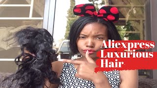AliExpress luxurious hair wig review UPDATE