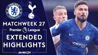 Chelsea v. Tottenham | PREMIER LEAGUE HIGHLIGHTS | 2/22/2020 | NBC Sports