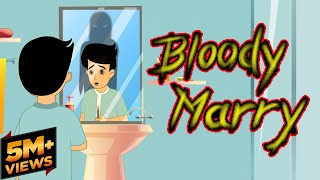 Bloody Marry (Horror Story) | Horror stories for kids | Hindi Cartoon | Mahacartoon Tv Adventure