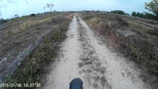 preview picture of video 'On the motorbike with new camera. Just a test in Vietnam, Hai Duong'