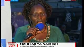 Mahitaji ya Nakuru-katika mdahalo ya wagombea ugavana wa kaunti ya Nakuru: Jukwaa la KTN pt 3