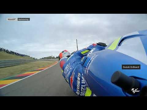 Suzuki Ecstar OnBoard: HJC Helmets Motorrad Grand Prix Deutschland