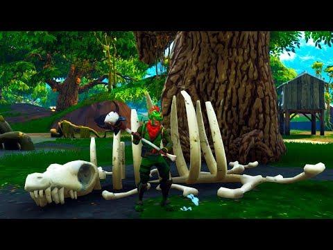 Hay Un Esqueleto En Fortnite Battle Royale 2 Dias Temporada 5