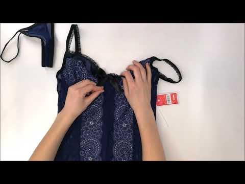 Košilka Auroria chemise XXL - Obsessive