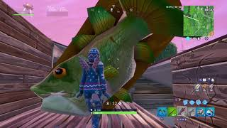 Fortnite: Visit the Giant Dancing Fish Trophy is bugged