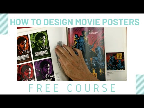 Download How to Design Movie Posters Mp4 HD Video and MP3