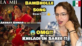BamBholle - Laxmii | Song Reaction | Akshay Kumar | Viruss | ullumanati