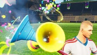 Fortnite vuvuzela sound - vuvuzela all 3 sounds and confetti