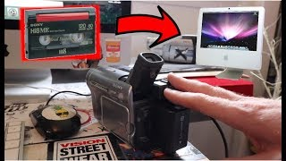 How To Transfer Hi8 Sony Handycam To Mac Computer - NO DATA FROM DEVICE FIXED!