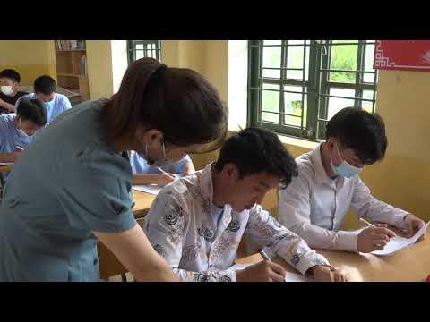 Vượt qua bệnh tật phấn đấu vượt qua kỳ thi tốt nghiệp THPT