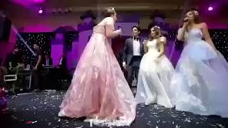 مفاجأة نورهان و زينة اخوات العروسة اسراء عبدالفتاح فى فرحها على حمدى الميرغنى