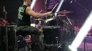 """Carlos Cruz   Power Trip   """"Hornet's Nest"""" (drum Cam)"""