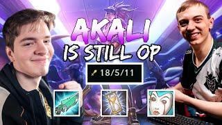 G2 Caps | AKALI IS STILL OP!!! (ft. M1kyx)