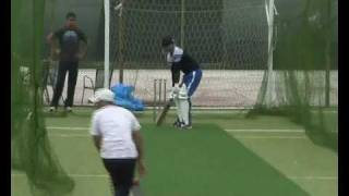 Sadaf Asghar and Shahid Parvez's batting