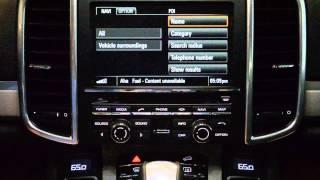 Porsche Online Services with A-ha Radio overview & demo