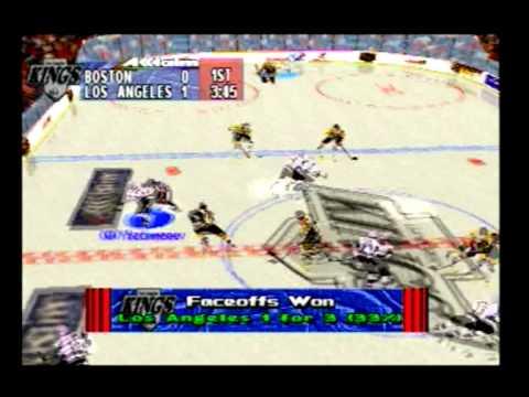 NHL Breakaway 98: Los Angeles Kings vs. Boston Bruins (part 1 of 2)