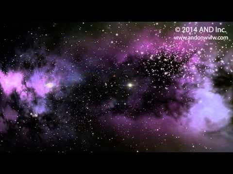 Nebulae and Starfield - CG Space Background Series - 2014