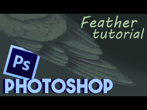 Photoshop bird wing tutorial