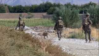US Marines In Sangin Afghanistan