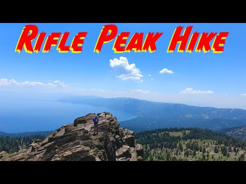 Rifle Peak Hike Lake Tahoe (9,608ft) Best of Hikes in Reno/Lake Tahoe and Truckee!!!