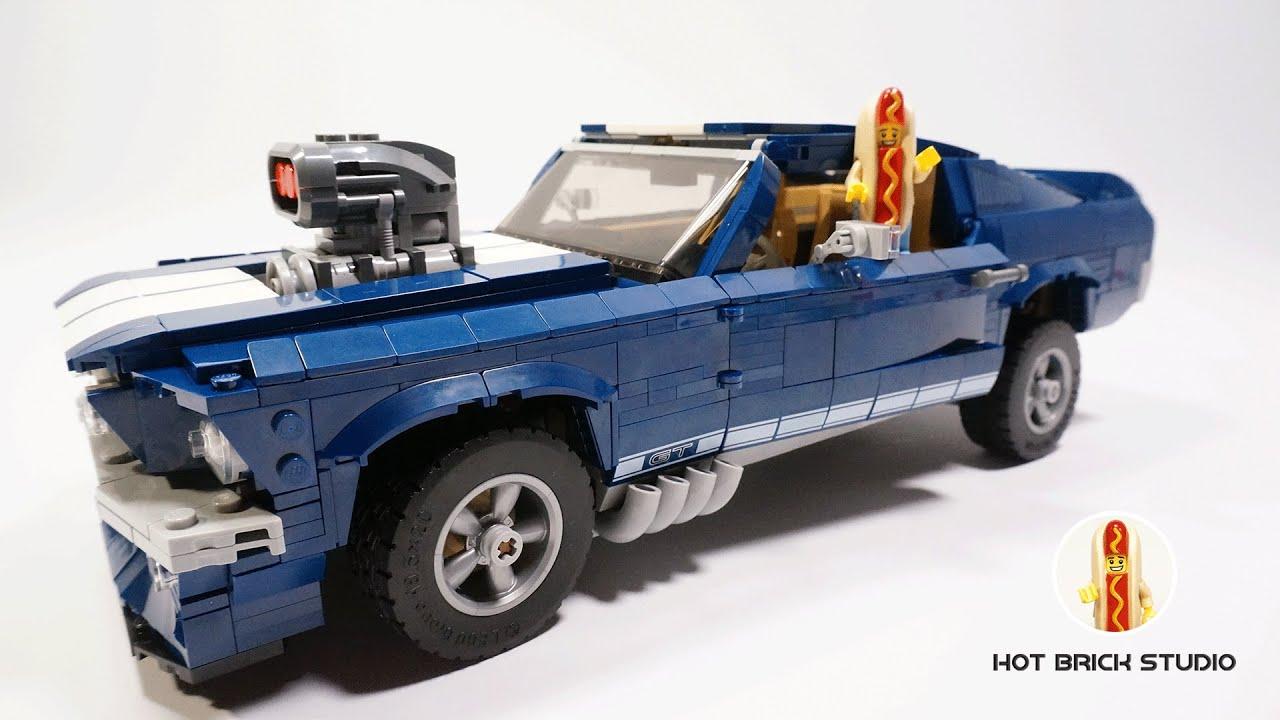LEGO 10265 Ford Mustang alternative model BUGGY moc