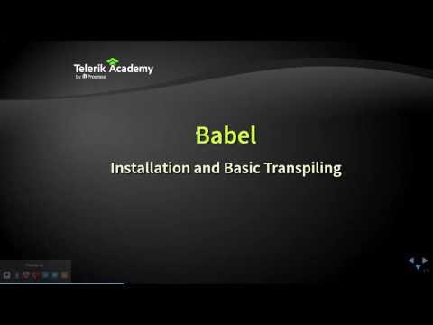 JavaScript Transpilers and Babel