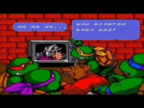 Teenage Mutant Ninja Turtles IV - Turtles in Time (USA) ROM < SNES ...