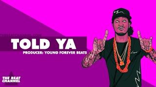 """TOLD YA"" Dope Trap Beat Instrumental 2017 | 808 Mafia Rap Drill Trap Type Beat | The Beat Channel"