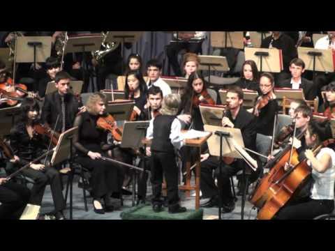 הילד היומי - מנצח על תזמורת