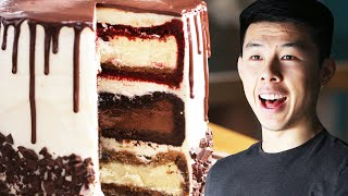 The Ultimate Triple-Decker Cheesecake Tower: Behind Tasty - Video Youtube