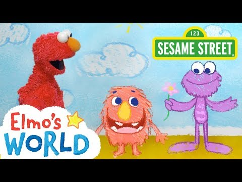 Sesame Street: NEW Elmo's World: Kindness | FULL Segment