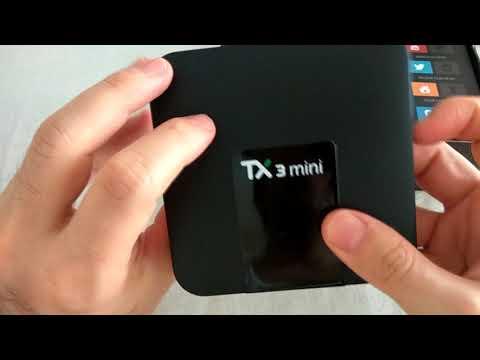 Tanix TX3 Mini Amlogic S905W Android 7.1 TV Box Unboxing