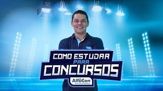 Como Estudar para Concursos com Evandro Guedes - AO VIVO - AlfaCon