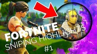 Fortnite (Battle Royale) Sniping Highlights