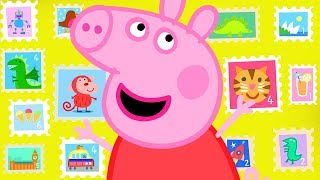 Peppa Pig Official Channel | Peppa Pig's Stamps Collection from All over the World