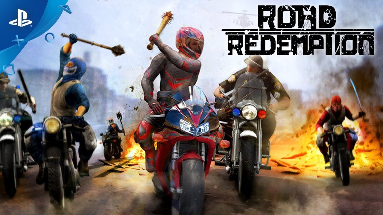 How Road Redemption Redefines Motorcycle Combat, Out Today on PS4