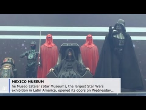 Dream museum for Star Wars fans opens in Mexico City