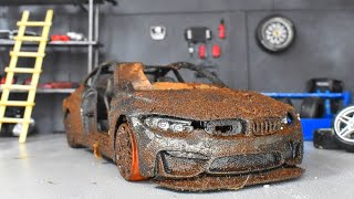 Restoration Abandoned BMW M4 GTS Model Car