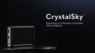 Монитор CrystalSky экран высокой яркости с диагональю *5,5 дюйма від компанії CyberTech - відео 2