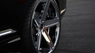 "Mercedes Benz CL 600 V12 2008 On 22"" Giovanna Wheels"