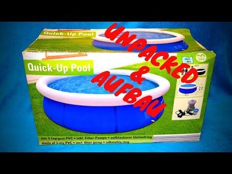 Neuer Pool Quick up