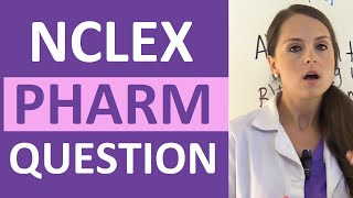 NCLEX Pharmacology Review Question on Medication Beta Blockers | Weekly NCLEX Series
