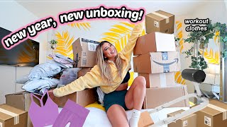 New year... HUGE WORKOUT CLOTHING HAUL! Set active, bootysprout, amazon, vitae apparel and more!