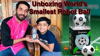 Unboxing World's Smallest Robot ball II Unboxing video no:2