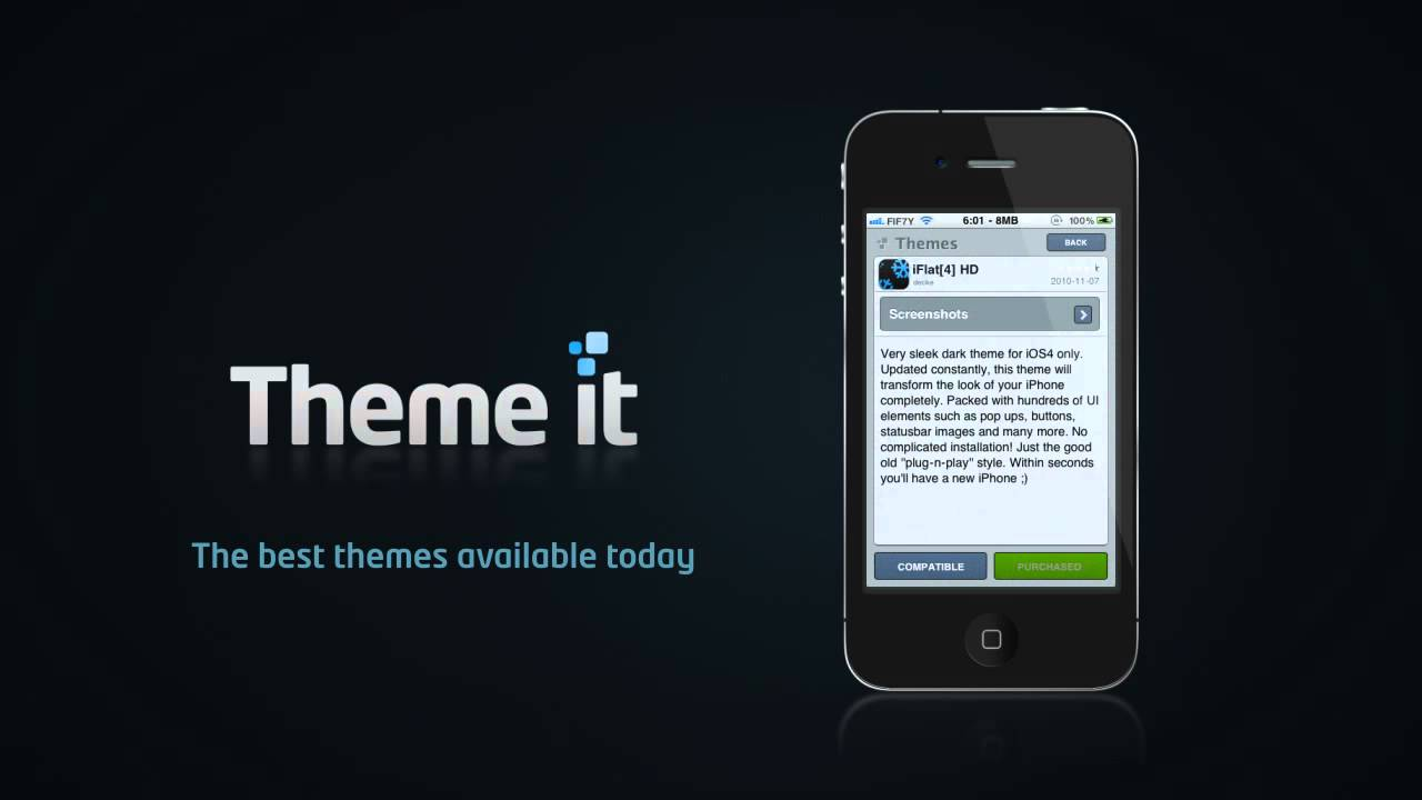 Theme It Makes iOS Interface Customisation Easy On Jailbroken Devices