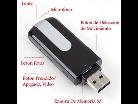 USB ESPIA CAMARA OCULTA
