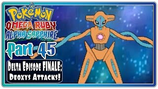 Pokemon Omega Ruby and Alpha Sapphire - Part 45: Delta Episode FINALE! (FaceCam)